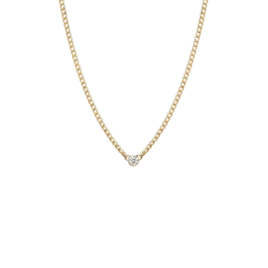 14K Gold Diamond Necklace - Millo Jewelry