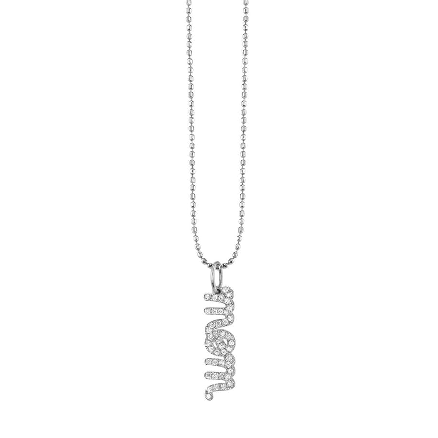 Gold & Diamond Mom Necklace - Millo Jewelry