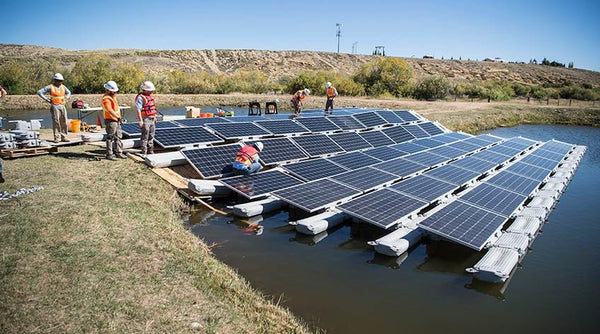 Great potential for floating solar photovoltaics systems