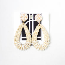 Load image into Gallery viewer, Woven Rattan Earrings