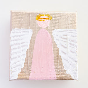 Pink Angel Painting