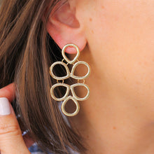 Load image into Gallery viewer, Gold Infinity Knot Earrings