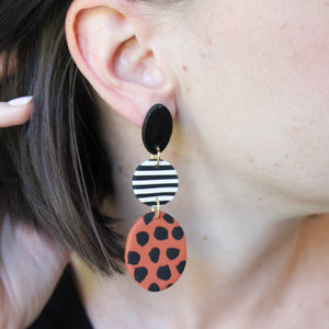 Earring of the Month: Spiced Cheetah Earrings