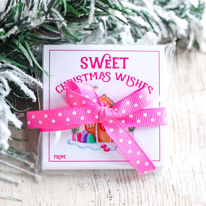Sweet Christmas Wishes Holiday Tags