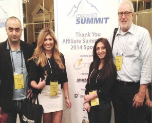 Velantro at the Affiliate Summit West 2014