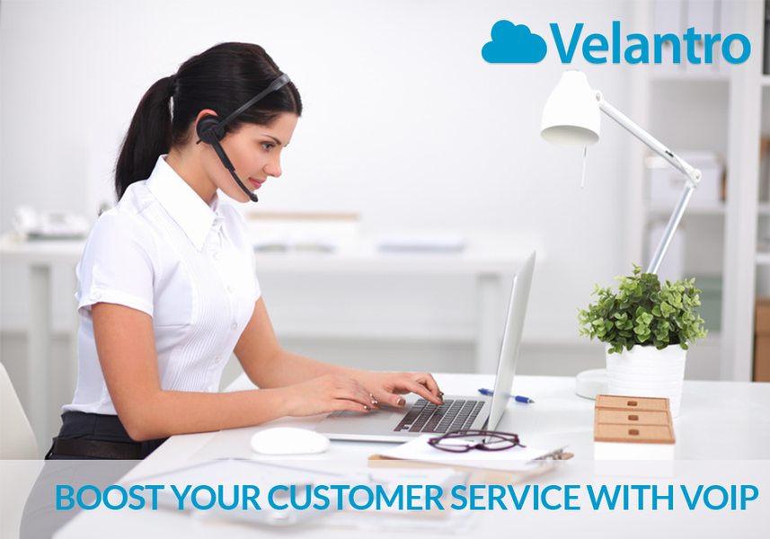 BOOST YOUR CUSTOMER SERVICE WITH VOIP