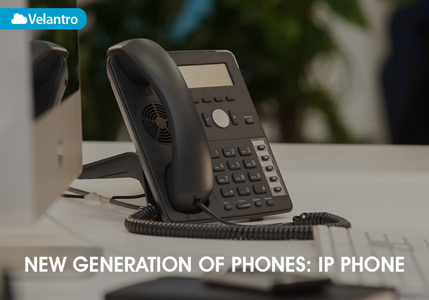 NEW GENERATION OF PHONES: IP PHONES