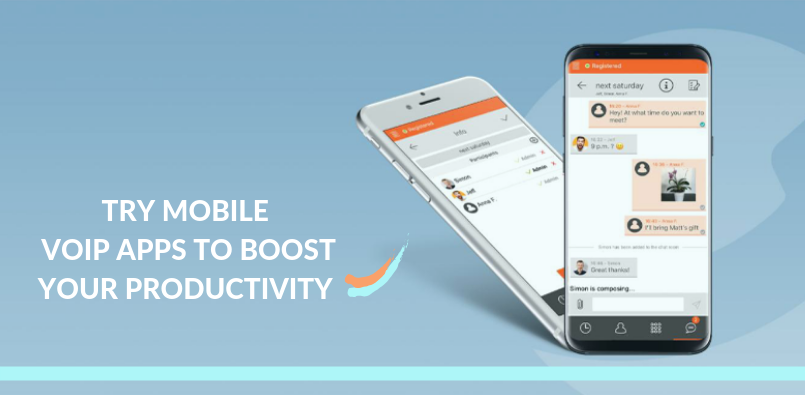TOP 3 FREE MOBILE VOIP APPS TO BOOST PRODUCTIVITY