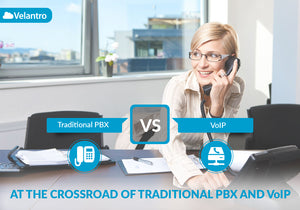 AT THE CROSSROAD OF TRADITIONAL PBX AND VOIP