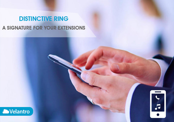 DISTINCTIVE RING: A SIGNATURE FOR YOUR PHONE LINES