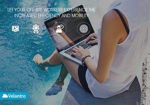 remote workers using VoIP photo