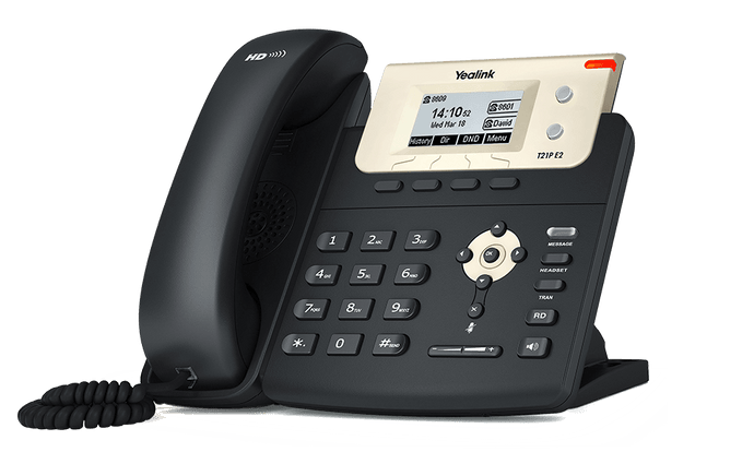 Yealink SIP-T21P E2 IP Phone for (T2 Series)