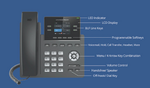 Grandstream GRP2612W Carrier-Grade IP Phone