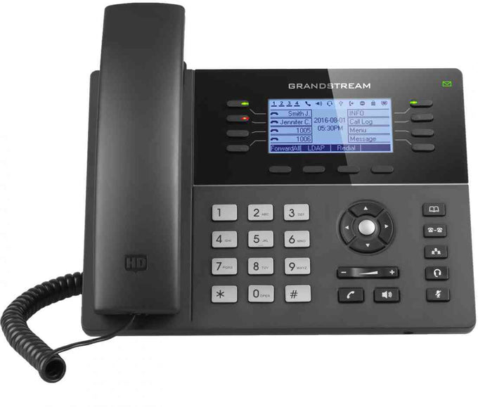 Grandstream GXP1782 8-Line Gigabit IP Phone - HD Audio