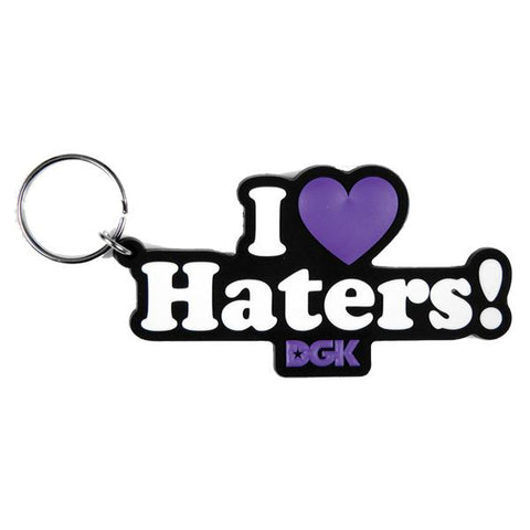 DGK HATERS PURPLE KEYCHAIN