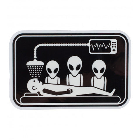 ALIEN WORKSHOP ABDUCTION STICKER