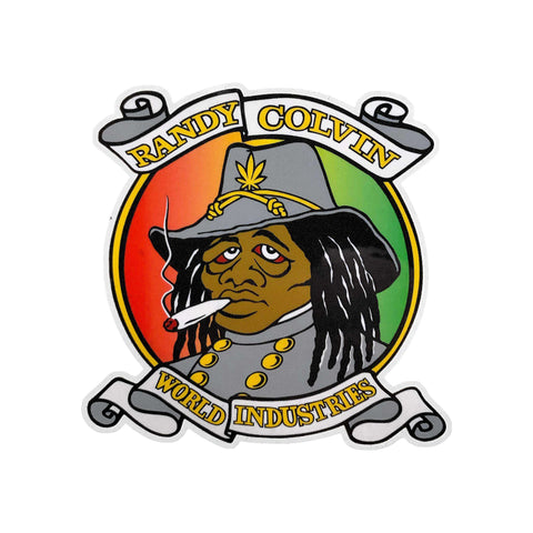 PRIME RASTA REBEL COLVIN STICKER