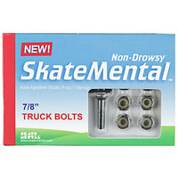 SKATE MENTAL NON DROWSY 7/8 INCH BOLTS