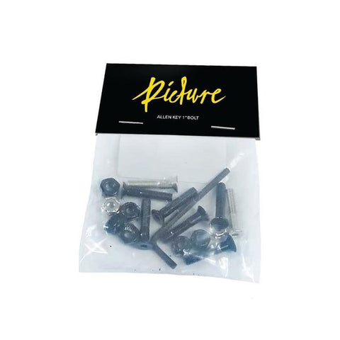 PICTURE WHEEL CO 1 INCH BOLTS