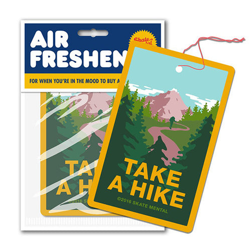 SKATE MENTAL TAKE A HIKE AIR FRESHENER
