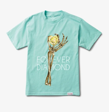 DIAMOND SUPPLY CO HEART OF BLUE SHIRT