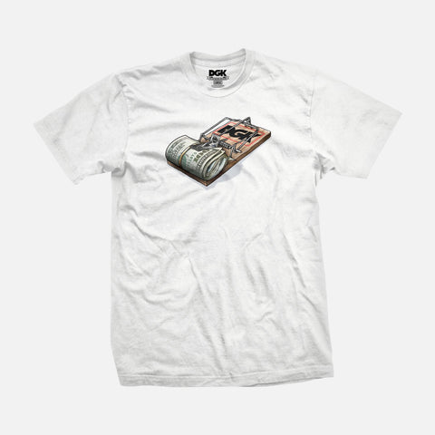 DGK MIND TRAP WHITE SHIRT