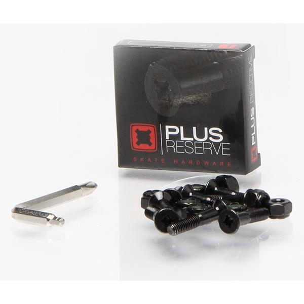 PLUS RESERVE 1 INCH BLACK BOLTS