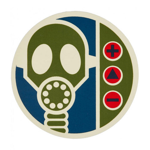 ALIEN WORKSHOP GAS MASK STICKER