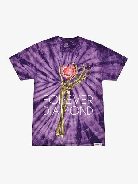 DIAMOND SUPPLY CO HEART OF PURPLE SHIRT