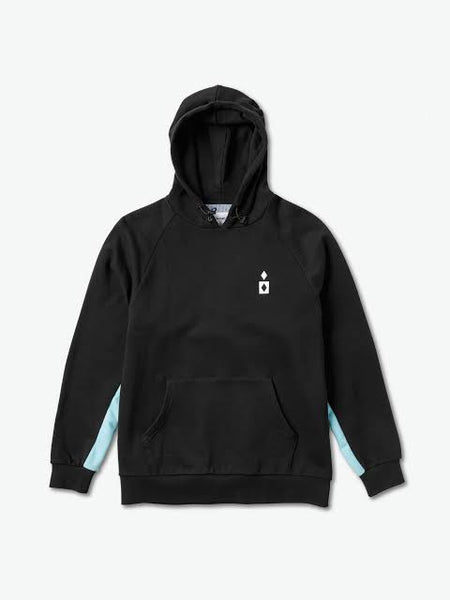 DIAMOND SUPPLY CO FORDHAM BLACK HOODED JUMPER