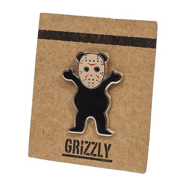 GRIZZLY NIGHTMARE BEAR PIN