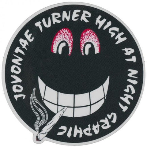 PRIME JOVONTAE TURNER HIGH AT NIGHT STICKER