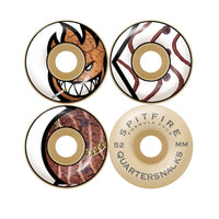 SPITFIRE QUATERSNACKS F4 53MM WHEELS