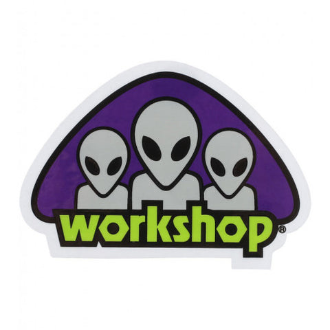 ALIEN WORKSHOP TRAID STICKER