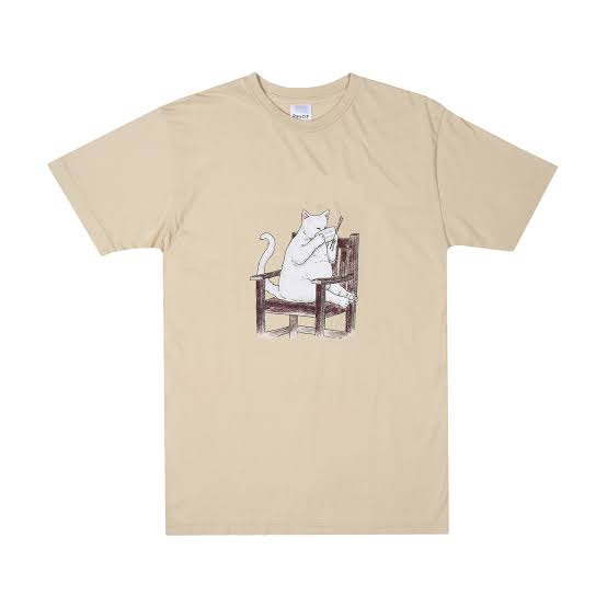 RIPNDIP TAKE OUT TAN SHIRT