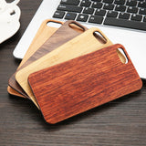 Natural Rosewood Bamboo iPhone Cases