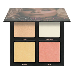 HUDA BEAUTY - 3D HIGHLIGHTER PALETTE - Pink Sands -