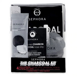 SEPHORA - The Charcoal Kit - Coffret Soin Visage Et Corps Charbon