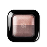 KIKO -  BRIGHT DUO BAKED EYESHADOW - Pearly sand / Satin Taupe - 2,5g