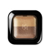 KIKO -  BRIGHT DUO BAKED EYESHADOW - Pearly gol/ pearly sand - 2,5g