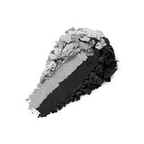 KIKO -  BRIGHT DUO BAKED EYESHADOW - Pearly silver / Matte black - 2,5g
