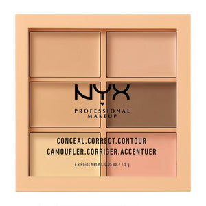 NYX - Professional Makeup Conceal / 3 C Palette - LIGHT