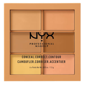 NYX - Professional Makeup Conceal / 3 C Palette - Medium