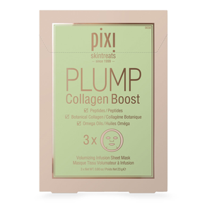 PIXI - Plump Collagen Boost Mask ( pack de 3 )
