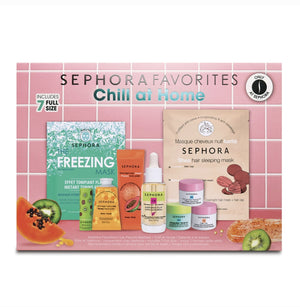 SEPHORA - Chill at Home Coffret Soin Visage Et Corps