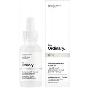 THE ORDINARY - NIACINAMIDE 10% + ZINC 1% 30ml