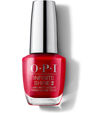 O.P.I.  - Infinite Shine 2  - Relentless Ruby  -