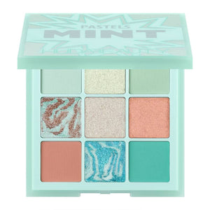 HUDA BEAUTY - PASTEL Obsessions Eyeshadow Palettes  - Mint