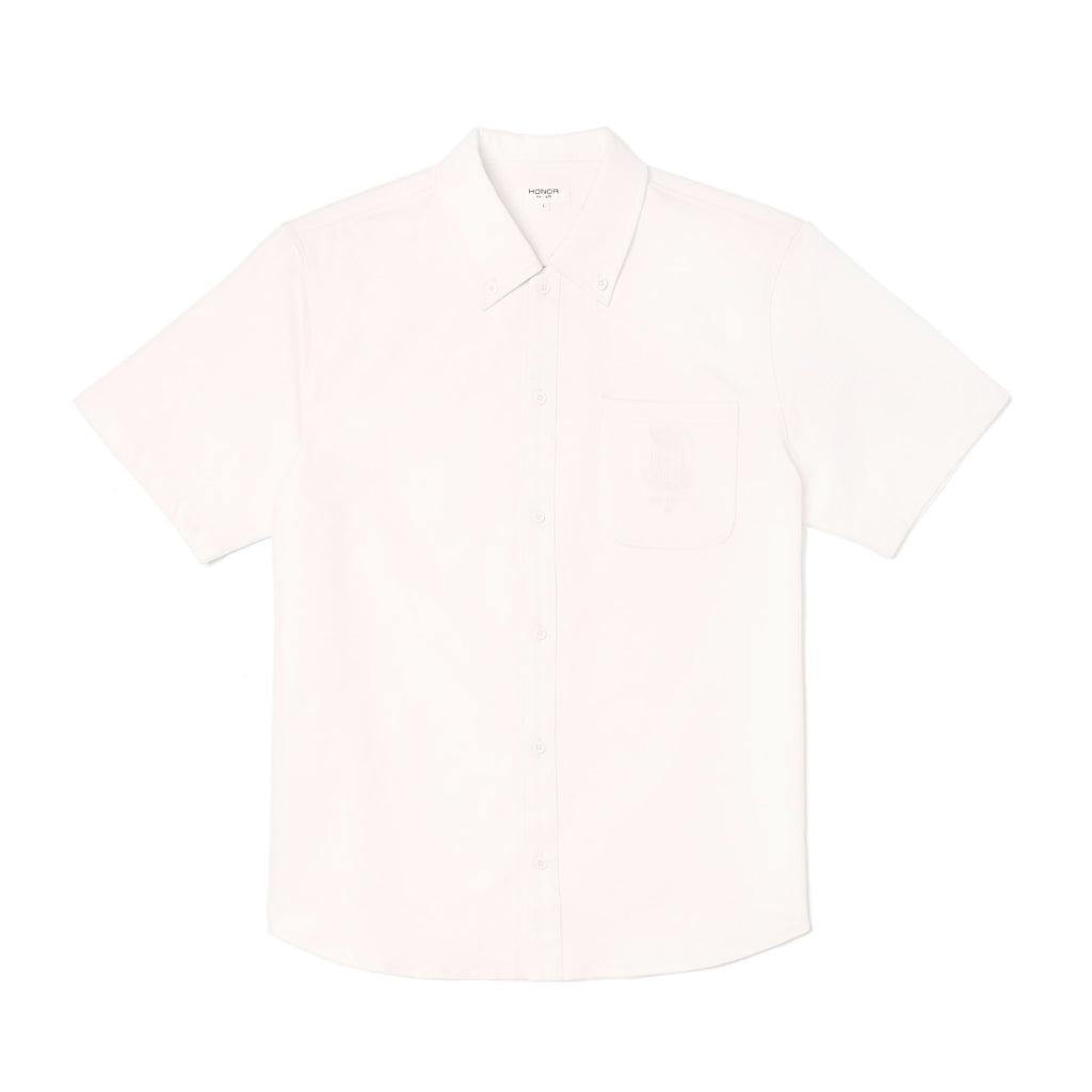 Academy Button Down - Off White