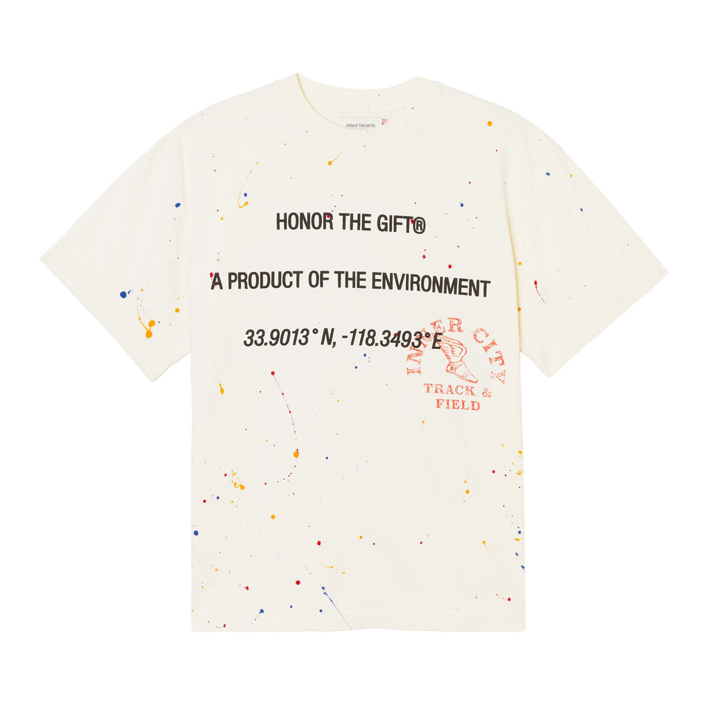 10K T-Shirt - Painter White